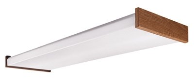 4' 4Lamp T8 Wrap Light