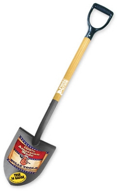 Shovel, Round Point, Ash Handle, 42.3-In.
