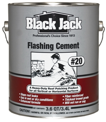 #20 Flashing Cement, Trowel-Grade, 3.6-Qts.