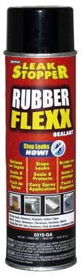 Leak Stopper Rubber Flexx Sealant, 18-oz. Aerosol
