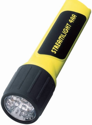 6-1/2 Inch Yellow Propolymer LED Flashlight