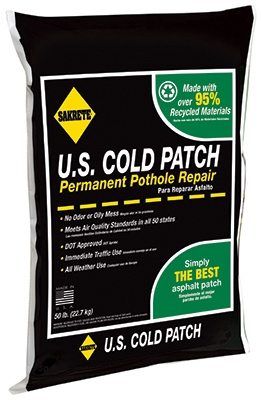 U.S. Cold Patch, 50-Lbs.