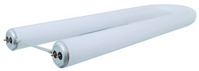 Fluorescent Lamp, U-Shape, Cool White, 6-In., 35-Watt