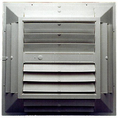 Evaporative Cooler Ceiling Grille, Plastic, 22-1/2 x 22-1/2 x 3-1/8 In.