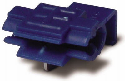 Tap Splice Wire Connector, Blue, 18-14 AWG, 5-Pk.