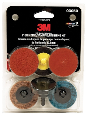 Grinding/Sanding/Finishing Kit, 2-In.