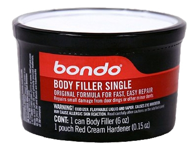 Body Filler Single, 6-oz.