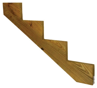 Stair Stringer, 4-Step