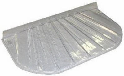 Low Profile Window Well Cover, Elongated, Fits 48 x 20 x 4-In.