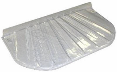Low Profile Window Well Cover, Rectangle, Fits 57 x 25 x 4-In.