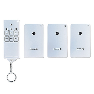 Wireless Outlet Remote Control, 3-Pk.