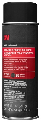 Headliner/Fabric Adhesive, 18.1-oz.