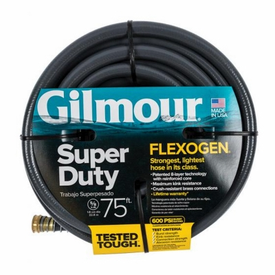Flexogen Hose, 8-Ply, 5/8-In. x 75-Ft.