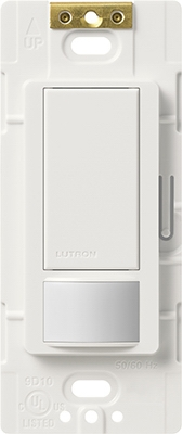 Maestro Sensor Switch, Large Room/Fan Occupancy, White