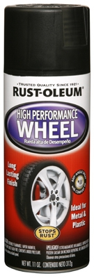 Wheel Coating, Flat Black, 11-oz.
