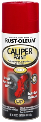 Caliper Paint, Red, 12-oz.