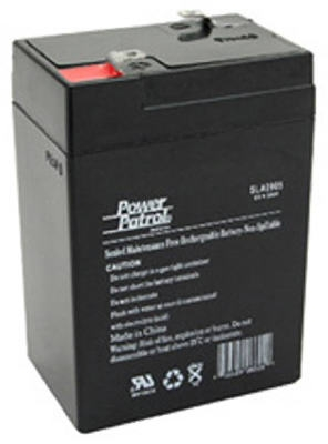 Sealed Lead Acid Battery, 6-Volt, 4.5-Amp