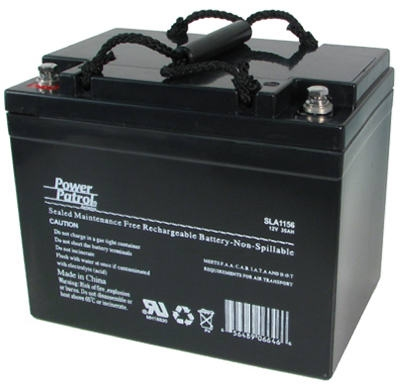 Sealed Lead Acid Battery, 12-Volt, 34-Amp