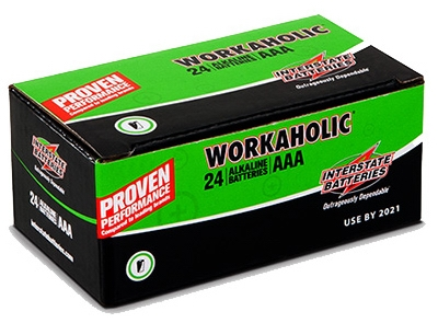Workaholic Alkaline Battery,