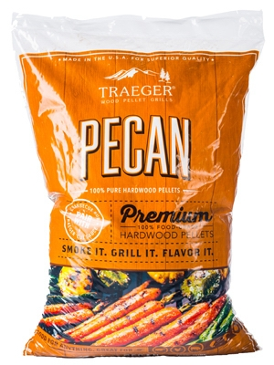 Barbeque Pellets, Pecan Hardwood, 20-Lb. Bag