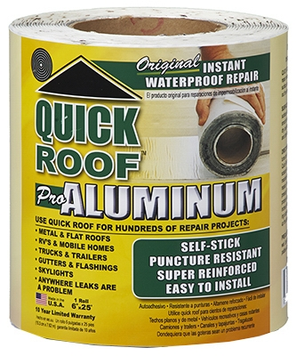 Roof Seal Tape, Aluminum, 6-In. x 25-Ft.