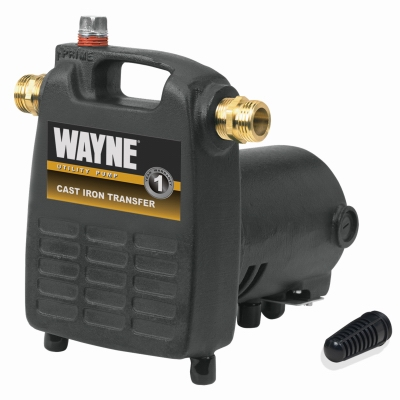 Cast Iron Portable Utility Pump, .5-HP Motor