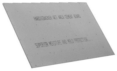 Hardiebacker 500 Cement Board, 3 x 5-Ft. x 0.5-In.