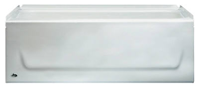 Kona 4-1/2-Ft. White Right-Hand Bathtub