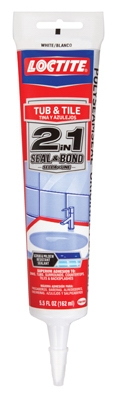 Polyseamseal Tub & Tile Caulk, White, 5.5 oz.