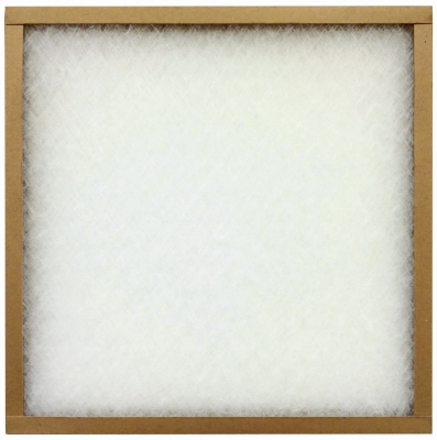 EZ Flow II 12x25x1-In. Flat Panel Spun Fiberglass Furnace Filter, Must Be Purchased in Quantities of 12