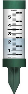 Rain Gauge Spike, Green, 11.5-Ft. x 3-In.
