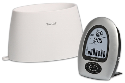 Wireless Digital Rain Gauge & Indoor/Outdoor Thermometer Base Station
