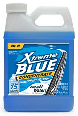 Xtreme Blue Windshield Washer, 32-oz.