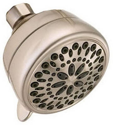 7-Spray Showerhead, Satin Nickel, 2.0 GPM