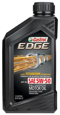 Edge SPT Motor Oil,  5W50, 1-Qt.