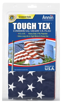 Tough Tex U.S. Flag, 2-Ply Polyester, 4 x 6-Ft.