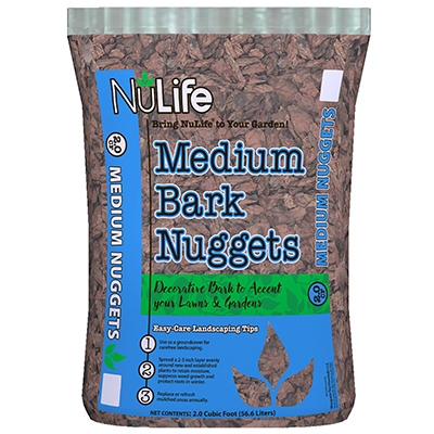 Medium Bark, Landscaping Accent, 2-Cu. Ft.
