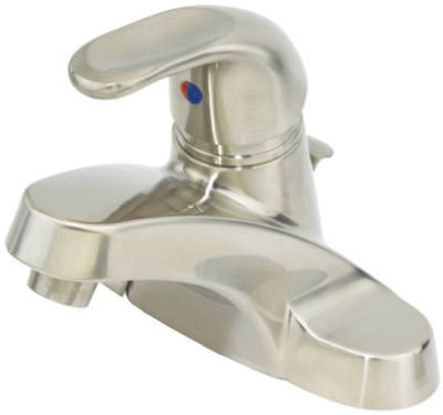 Single-Lever Lavatory Faucet With Pop Up, Nickel