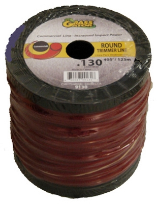 Trimmer Line, Commercial Quality, .130-In., 3-Lb. Spool