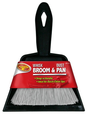 Broom & Dust Pan, 6 x 7-In.