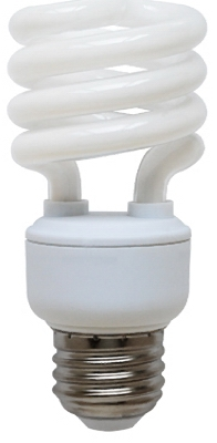 T2 Cool White Ultra Mini CFL Bulb, 13-Watts