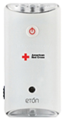 American Red Cross LED Emergency Flashlight, Wall Outlet Charge