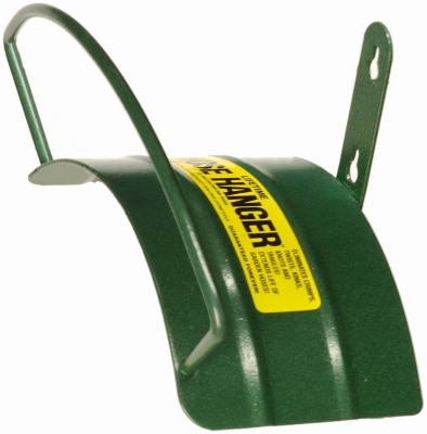 Hose Hanger, Wall-Mount, Steel, Holds 100-Ft. Hose