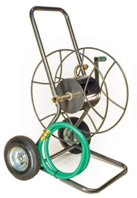 Hose Reel Truck, 2-Wheel, Holds 200-Ft.