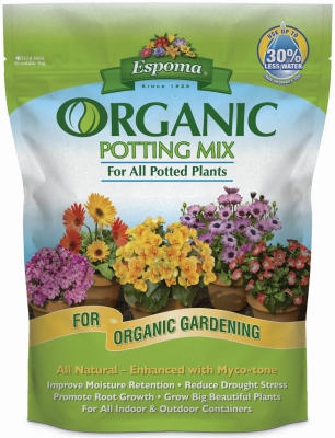 Potting Mix, Organic, 4-Qts.