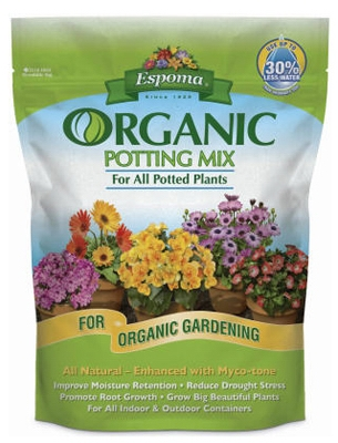 Potting Mix, Organic, 8-Qts.