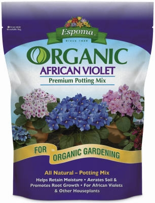 African Violet Potting Mix, Organic, 4-Qts.
