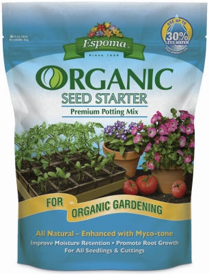 Seed Starter Potting Mix, Organic, 8-Qts.