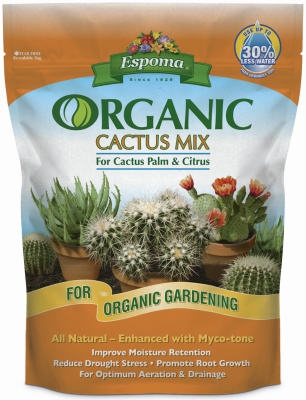 Cactus Potting Mix, Organic, 4-Qts.