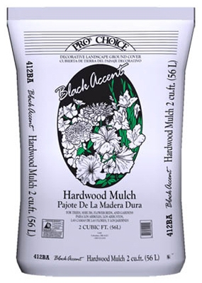 Natural Accents Hardwood Mulch, 2-Cu. Ft.